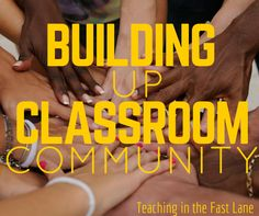 Classroom community building activities to make every classroom more compassionate, caring, and inclusive! Community Building Activities, Building Classroom Community, Middle School, Back To School, School Stuff, Whole Brain Teaching, History Education, Fifth Grade, Classroom Management