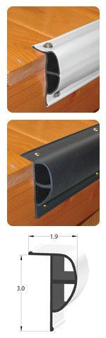 """Taylor Made Products - Dock Pro™ Standard """"P"""" Shape Black 10' Coil"""