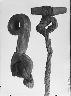 Rope and fasteners from the Oseberg ship