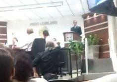 Durante a última sessão da Câmara de Vereadores de VINH…