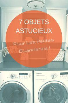 Petite Buanderie ? Ces 7 Objets Vont Vous Changer La Vie !  http://www.homelisty.com/petite-buanderie/