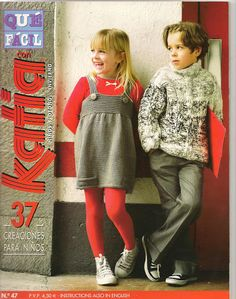 In Spanish & English Knitting Magazine, Crochet Magazine, Knitting For Kids, Baby Knitting, Baby Patterns, Knitting Patterns, Crochet Patterns, Crochet Lace, Free Crochet