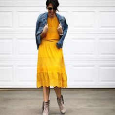 Villanelle Lace Dress #Anthropologie #MyAnthroPhoto