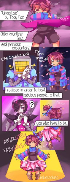 ABSOLUTELY FABULOUS [Undertale Comic] by MiknCookies on DeviantArt