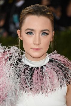 Saoirse Ronan | The Diary of a Celebrity Makeup Pro at the Met Gala
