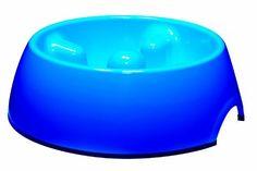 Dogit Go Slow Anti-Gulping Dog Bowl, Blue, X-Small by Hagen, http://www.amazon.com/dp/B0035H39AS/ref=cm_sw_r_pi_dp_7INuqb02NNQ3H