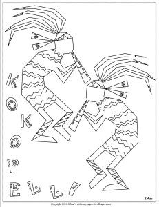 Coloring Pages for Adults Only | Native American Coloring ...