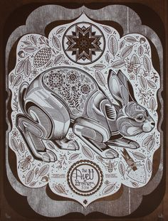 Stunningly Beautiful New Posters for The Avett Brothers by David Hale