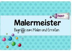 Ideenreise: Malermeister (Spielidee/Spielmaterial)