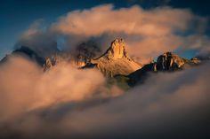 Sunrise at Dolomiti, July 2017