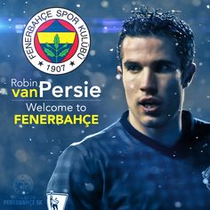 Welcome to #Fenerbahçe ! @Persie_Official Robin Van PERSİE