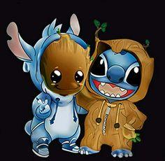 Cute Disney Drawings, Cute Animal Drawings, Kawaii Drawings, Cute Drawings, Baby Disney Characters, Cute Characters, Arte Disney, Disney Art, Deadpool Pikachu