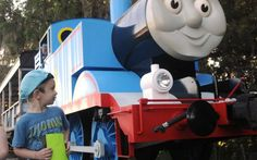 """""""Day Out With Thomas"""" draws thousands of kids and grown-ups to the Florida Railroad Museum in Parrish each year for a visit with the perennially popular Thomas the Tank Engine."""