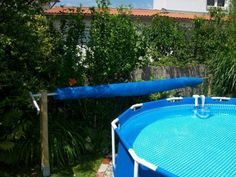 ✔ 52 nice pool house decorating ideas on a budget 26 Related Oberirdischer Pool, Pool Nets, Intex Pool, Diy Pool, Pool Cover Roller, Piscina Diy, Above Ground Pool Cover, Solar Pool Cover, Pool Deck Plans