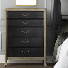 Found it at Wayfair - Landis 5 Drawer Chest by Simmons Casegoods