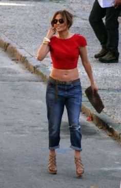Jennifer Lopez. My idol she is and looks AMAZE!!