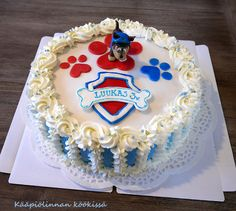 3 Year Old Birthday Party, 2nd Birthday Party Themes, Paw Patrol Birthday Cake, Baking, Desserts, Cake Ideas, Food, Party Ideas, Printables