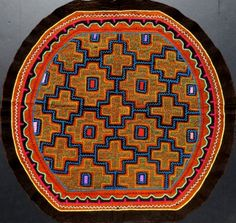 "via Harmonia de Luz ""We offer Shipibo tribe art  donate 100% of profits back to the Shipibo"""