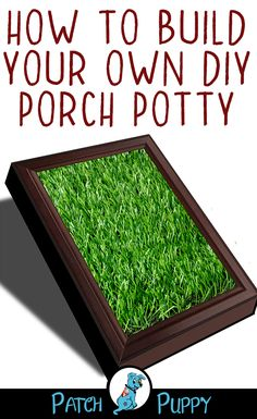 How to build your DIY Porch Potty for Dogs, DIY and Crafts, Need somewhere for your dog to do thier business? Learn how to build your own DIY Porch Potty for Dogs with these great instructions! Outdoor Dog Area, Backyard Dog Area, Indoor Dog Potty, Porch Potty, Dog Toilet, Pet Resort, Dog Pee, Porche, Diy Porch