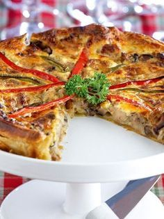 Σνακ Archives - Page 8 of 24 - www. Greek Recipes, Light Recipes, Fun Cooking, Cooking Time, Quiches, Cookbook Recipes, Cooking Recipes, The Kitchen Food Network, Good Food