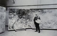 "Claude Monet. ""I am very depressed and deeply disgusted with painting. It is really a continual torture"