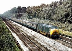 Trains Heaven — Throwback Thursday! Class 42 Warship (unit D868...