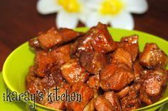 Authentic Indonesian Recipes » Babi Kecap (Pork in Soya Sauce) superlicious! Dutch Recipes, Spicy Recipes, Pork Recipes, Fish Recipes, Asian Recipes, Appetizer Recipes, Vegetarian Recipes, Cooking Recipes, Ethnic Recipes