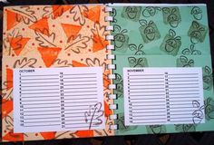 Card Organizer insides by lbirus - Cards and Paper Crafts at Splitcoaststampers Card Organizer, Organizers, 9 And 10, Calendar, Boxes, Scrapbooking, Paper Crafts, Organization, Projects