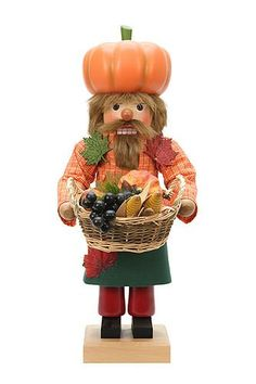 German Christmas Nutcracker The Fall  The Four Seasons  48cm  19 inches  Christian Ulbricht *** This is an Amazon Affiliate link. Be sure to check out this awesome product.