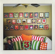 I may actually get crafty to get this A-B-C project done for Master P's play area; if it's a craft involving book pages, I can get on board.
