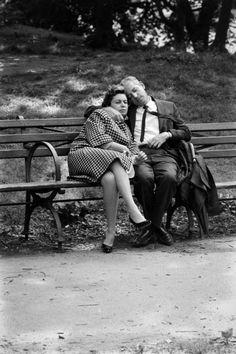 Central Park New York 1961 Photo: Leonard McCombe