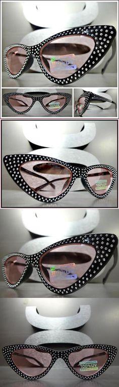 c0da062f0a Sunglasses and Sunglasses Accessories 179247  Elegant Vintage 50 S Retro  Cat Eye Style Sun Glasses