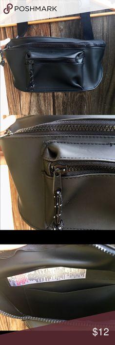 TopShop fanny pack Adjustable TopShop black fanny pack Topshop Bags