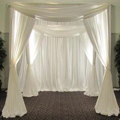 Wedding Designs 4 Post Height Adjustable Canopy Chuppah Mandap Wedding Photo Exhibition Booth - Hardware Kit Only Backyard Canopy, Canopy Outdoor, Canopy Tent, Cheap Canopy, Canopy Lights, Tree Canopy, Canopies, Wedding Chuppah, Wedding Canopy