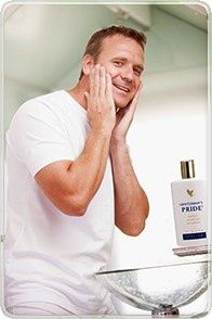 As a razor blade moves across your skin, it can cause nicks and scratch the skin's surface causing 'razor burn', leaving your skin irritated and dry. Pamper and soothe your skin with the moisture of Gentleman's Pride, an alcohol-free aftershave balm with a clean, masculine scent. Feel the icy exhilaration of this unique blend of lubricants and moisturizers combined with pure, stabilized Aloe Vera gel. Order online at http://www.healeraloe.flp.com/