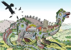 Dinosaurs and Cities. How can you go wrong with that