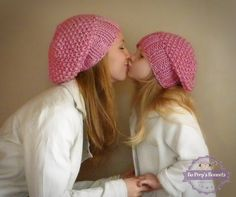 Mommy & Me Matching Knit Slouch Hats MANY COLORS Knitted Toddler Beanie Hat Knit Women's Hat Toddler Hat Girls Hat Children's Hat Kids Hat by BoPeepsBonnets on Etsy https://www.etsy.com/listing/153387203/mommy-me-matching-knit-slouch-hats-many