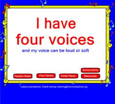 I Have 4 Voices (My voice can be loud and soft) notebook file