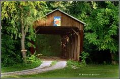 Covered bridge in Ohio Wonderful Places, Beautiful Places, Old Bridges, Madison County, Old Barns, Covered Bridges, All Over The World, Image Search, Ohio
