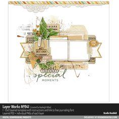 Layer Works No. 941- Studio Double-D Templates- LT871752- DesignerDigitals