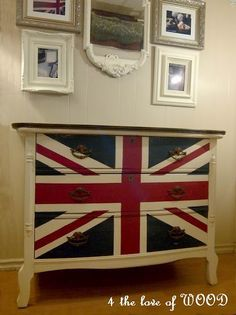 Union Jack Dresser How to - have to do this asap