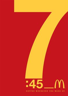 McDonald's Uses Eye-Catching Typographic Ads To Promote Its Coffee Fast Food Advertising, Good Advertisements, Creative Advertising, Advertising Design, Advertising Campaign, Typography Ads, Graphic Design Typography, Branding Design, Mc Donald Ads