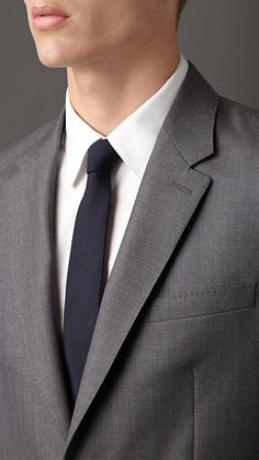 Classic Fit Wool Suit | Burberry