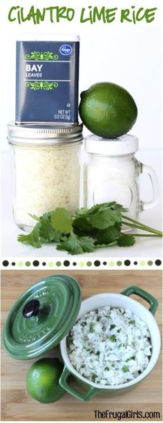 Cilantro Lime Rice Recipe! ~ from TheFrugalGirls.com ~ a delicious copycat make at home version of your Chipotle restaurant favorite! #mexican #recipes #thefrugalgirls Rice Dishes, Food Dishes, Mexican Dishes, Mexican Recipes, Matcha, Vegan Recipes, Rice Recipes, Side Dish Recipes, Pasta Recipes