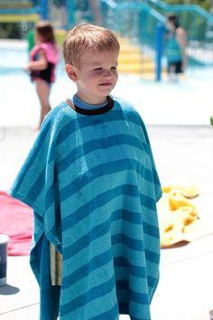 Swim Towel Pullover...genius!