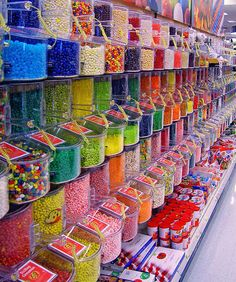 Candy Heaven!!! Every child's dream!!!