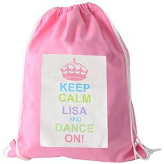 4e9bdaaab1b7 Personalised Pastel Keep Calm Kit Bag. Personalised Forever Friends Girls  Swim Bag from Personalised Gifts ...