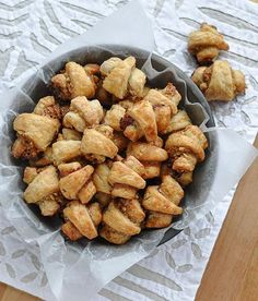 Rugelach Cookies (don't know if this recipe's any good but we made these with currants that one time and they were REALLY GOOD)