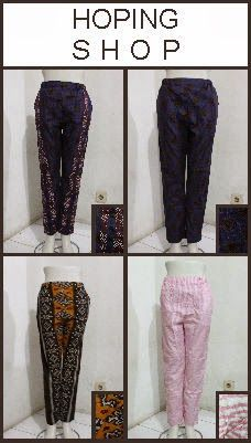 Toko Online Pakaian Santai Cewek: Celana Panjang Cewek