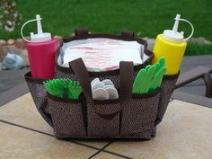 The Mini Organizer ~ A perfect addition to your BBQ's !    www.mythirtyone.com/121930